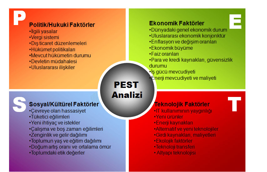 pest analizi