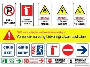 5s uyarı levhaları